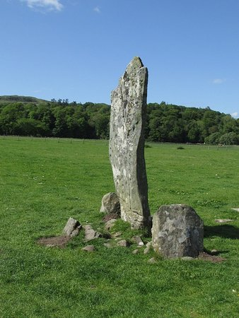 Kilmartin, UK: Nether Largie Stone- May 2016