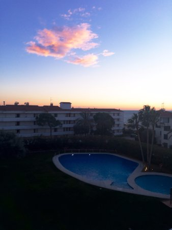 Melia Sitges: Pool view from the balcony