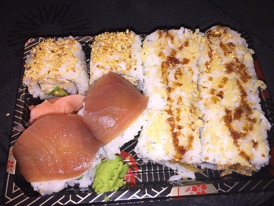 Eggenfelden, Allemagne : Perfektes Sushi. Wahnsinn, nirgendwo gibt es besseres ♥😍