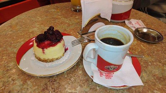 Mamuschka : Cheese cake con café, la combinación ideal