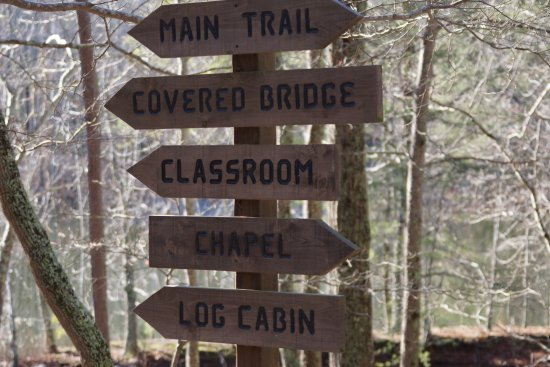 Madison County Nature Trail-Green Mountain: Signposts to Features