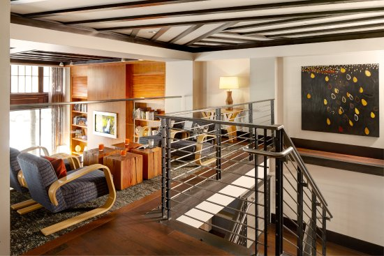 Hotel Andra: Andra Loft is open to the public and can be secured for private events.