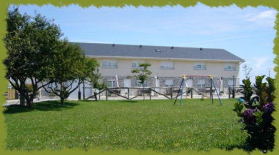 El Franco Municipality, Spain: Vista exterior de los apartamentos