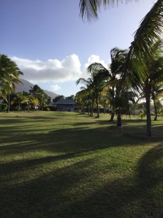 New Castle, Nevis: view up to the Great House