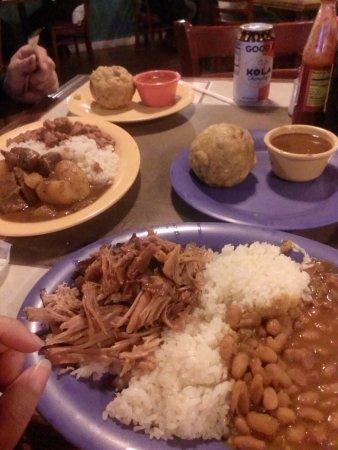arroz blanco habichuelas y lechon asado picture of ponce rh tripadvisor com