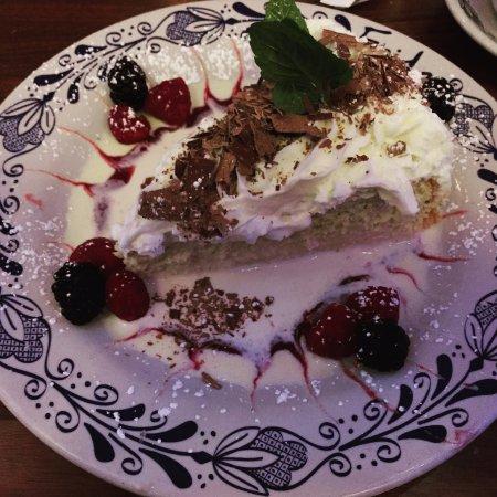 Frida Mexican Restaurant: a multi-layered milk cake