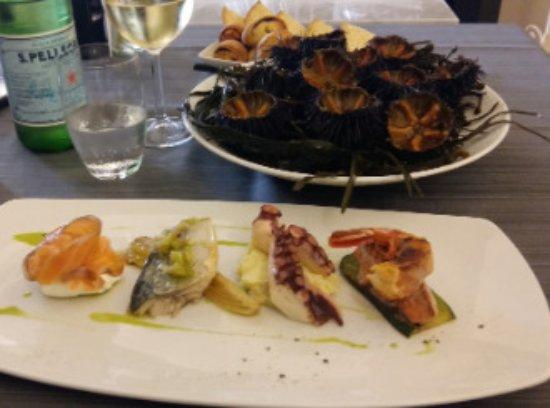 Maglie, Italia: ANTIPASTI DI MARE