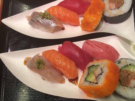 Ijmuiden, เนเธอร์แลนด์: Zoek de sushi met........haring