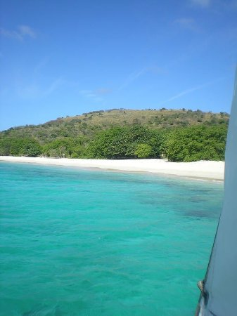 Flamenco Beach : From the boat