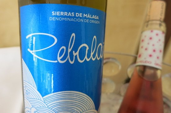 Gran Melia Don Pepe: Wine from Red Level Lounge