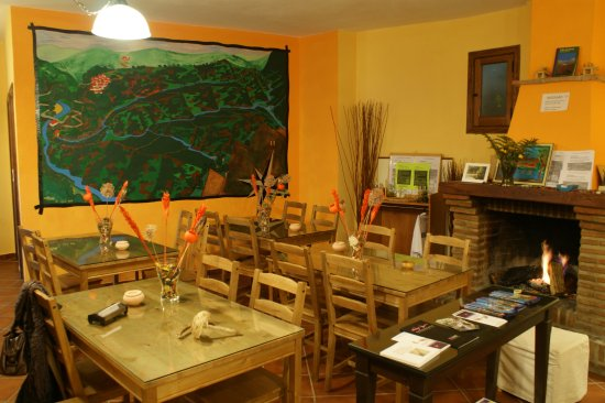 Genalguacil, إسبانيا: Salón Posada