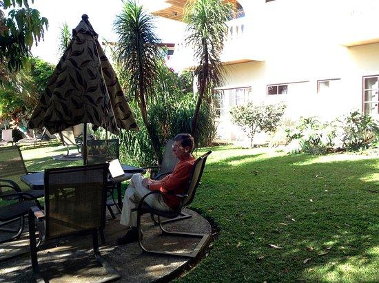 Hotel Buena Vista: Good internet reception