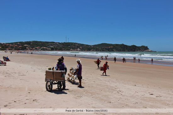 Buzios, RJ: Areia lisa