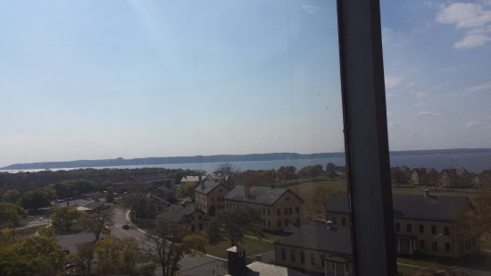 Middletown, Nueva Jersey: Nice view from the light house of Sandy Hook