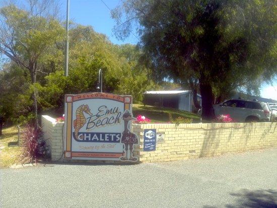 Emu Beach Chalets Foto