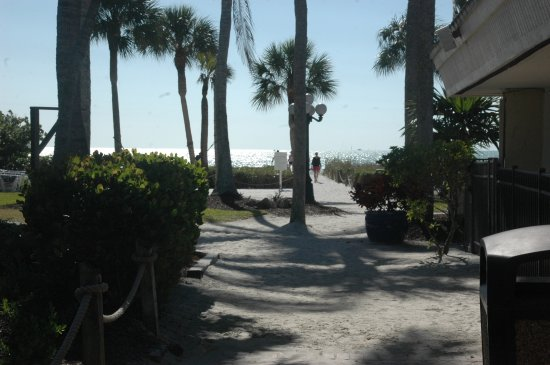 Sanibel Island Beach Resort View From Hotel At Access