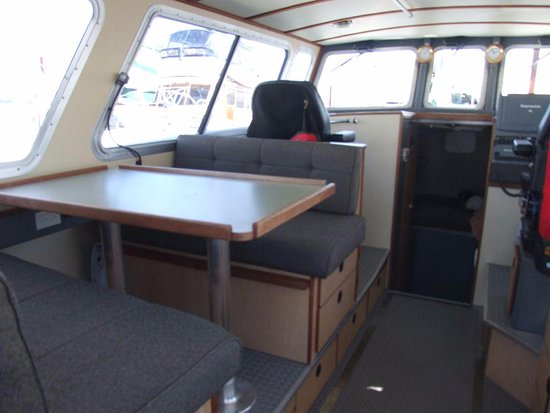 Gibsons, Canada: Interior of Eaglecraft Boat