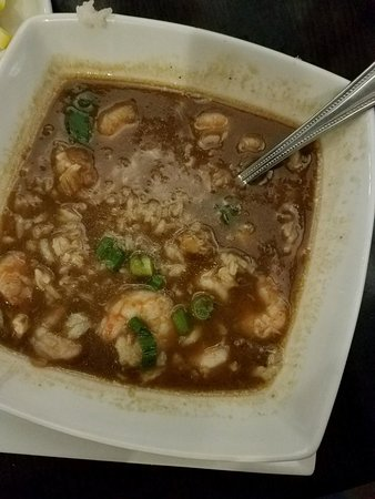 Denham Springs, LA: Seafood gumbo! Just right!