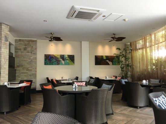 The Richardson Hotel & Spa: Breakfast restaurant