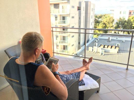 The Richardson Hotel & Spa: Balcony at room 707