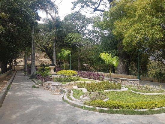 Ezequiel Zamora Park: parque EL CALVARIO, area de jardines