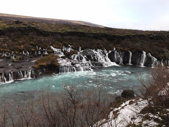 Hafnarfjordur, Island: hraunfossar