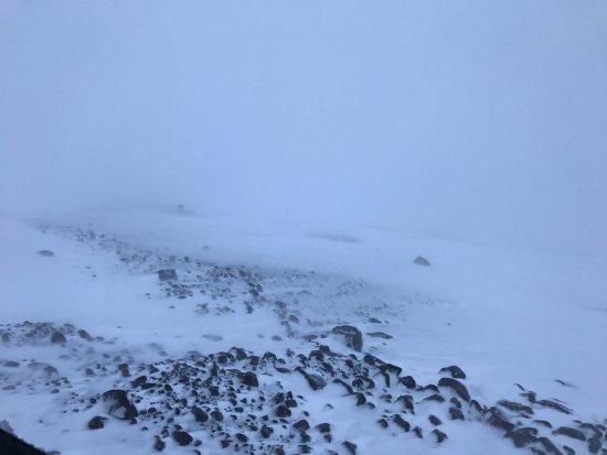 Hafnarfjordur, Iceland: Blizzard