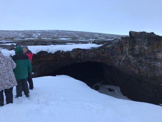Hafnarfjordur, Iceland: Surtshellir