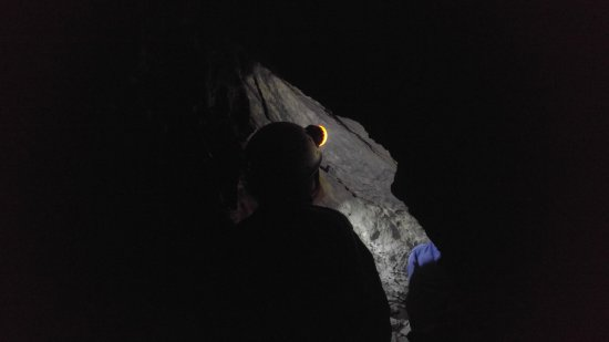 Canmore Cave Tours: Hanging out in the cave