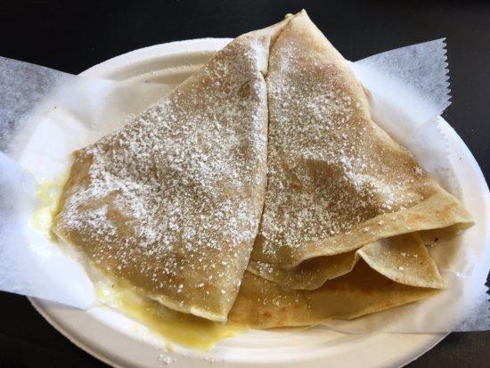 Westfield, IN: The marshmallow vanilla crepe