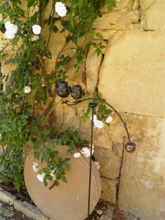 Severac l Eglise, France: jardin