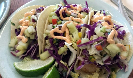 Palisade, CO: Plate of tacos (a best buy!)
