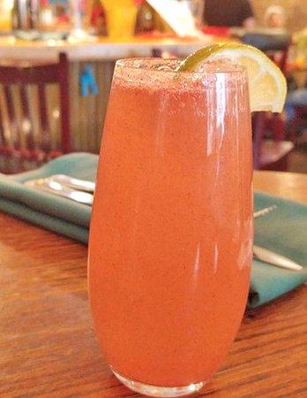 Palisade, CO: Watermelon mimosa - a summer treat