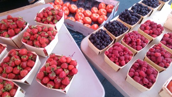 Hamburg, NY: Fresh local berries!