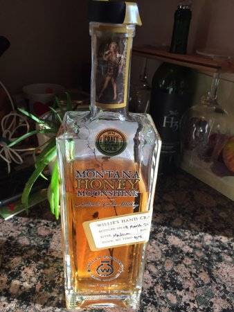Time for a little Honey Moonshine
