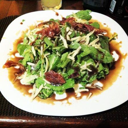 Déguster Café: Salada de Rúcula