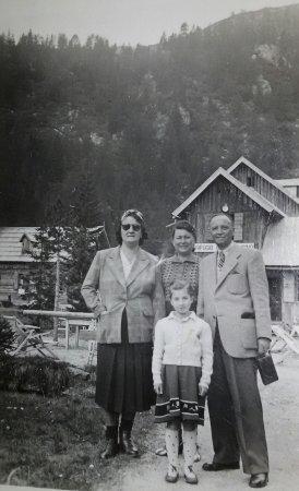 Rifugio Lago Nambino: Agosto 1942 Lago Nambino