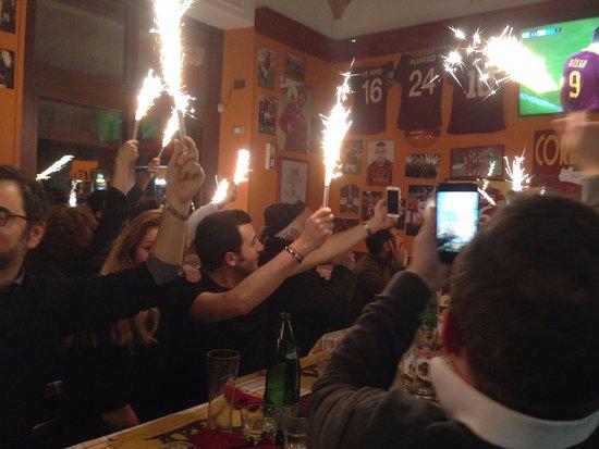 Core de Roma: Festeggiamenti