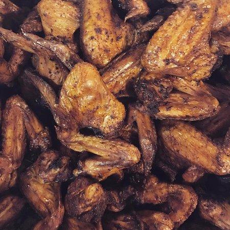 Beacon, NY: Maple & Whiskey Brined Smoked Wings