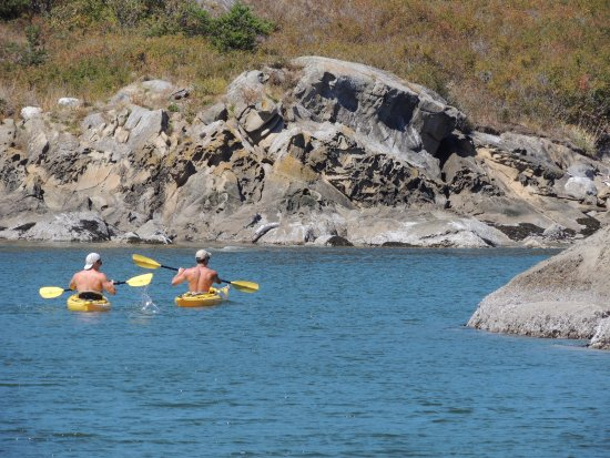 Eastsound, Ουάσιγκτον: Great kayaking at Sucia Island state park.