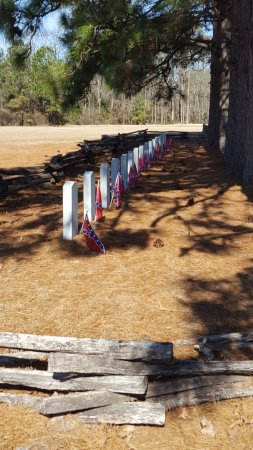 Four Oaks, Carolina del Nord: confederate cemetery