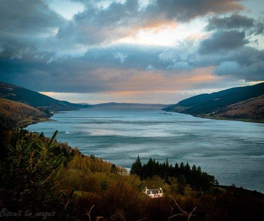 Loch Eck, UK: local beauty spot