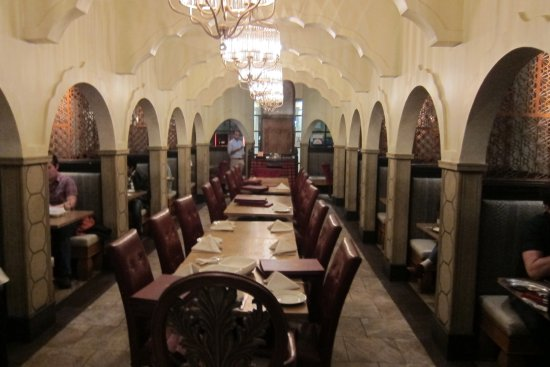 Interior picture of anarkali indian restaurant los for Anarkali indian cuisine