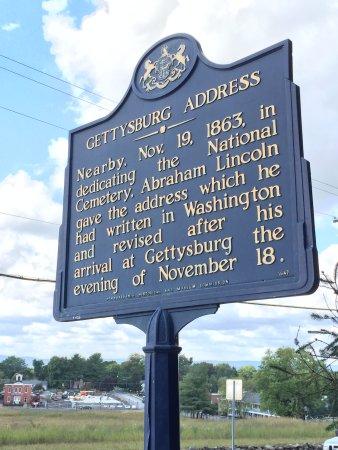 Геттисбургский национальный военный парк: Gettysburg National Military Park - Historical Marker