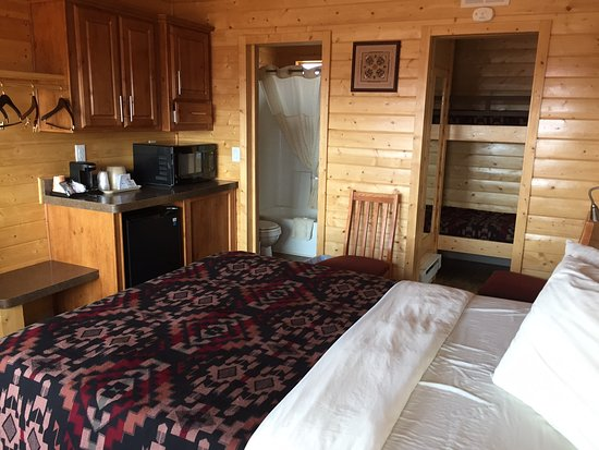 Intérieur de la Valley Rim Premium View Cabin - Picture of The View ...