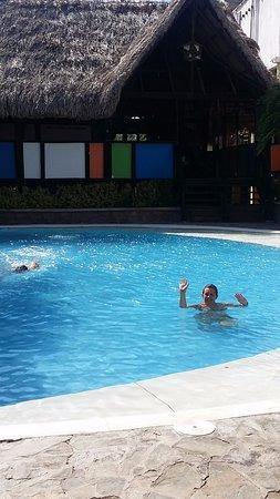 Sansiraka Hotel: Un elemento muy necesario para disipar el calor.