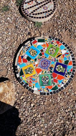 Sonoita, AZ: Tile outside
