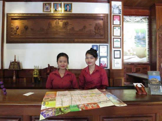Angkor Sayana Hotel & Spa: The Kind & Friendly Ladies of Angkor Sayana