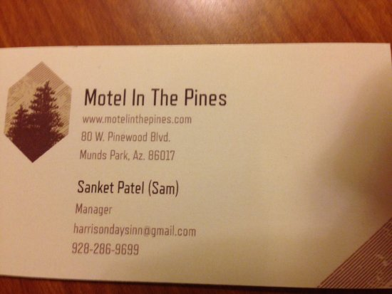 Foto de Motel in the Pines