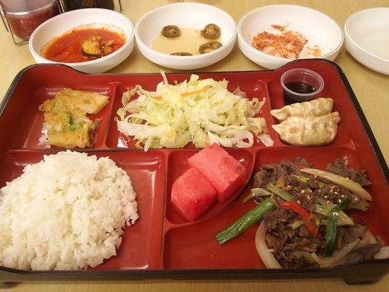 Beltsville, MD: Beef Bulgogi Lunch Box